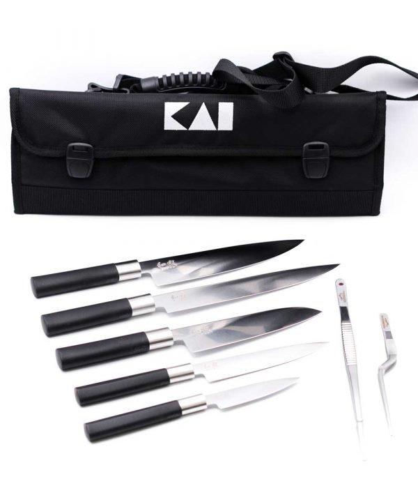 KAI Set Wasabi Black Europa 8pz-coltellipersonalizzati.com