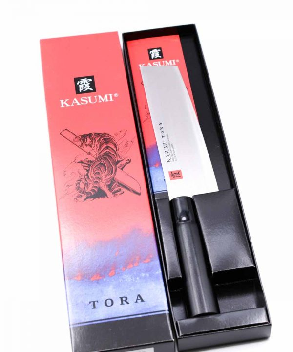 Kasumi TORA Nakiri 18cm- mycustomknives.com