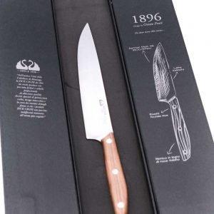 Due Cigni Arrosto 20cm Noce-coltellipersonalizzati.com
