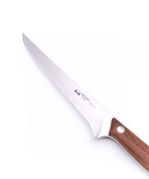 Due Cigni Boning Knife 15cm Walnut Wood-custom-knives