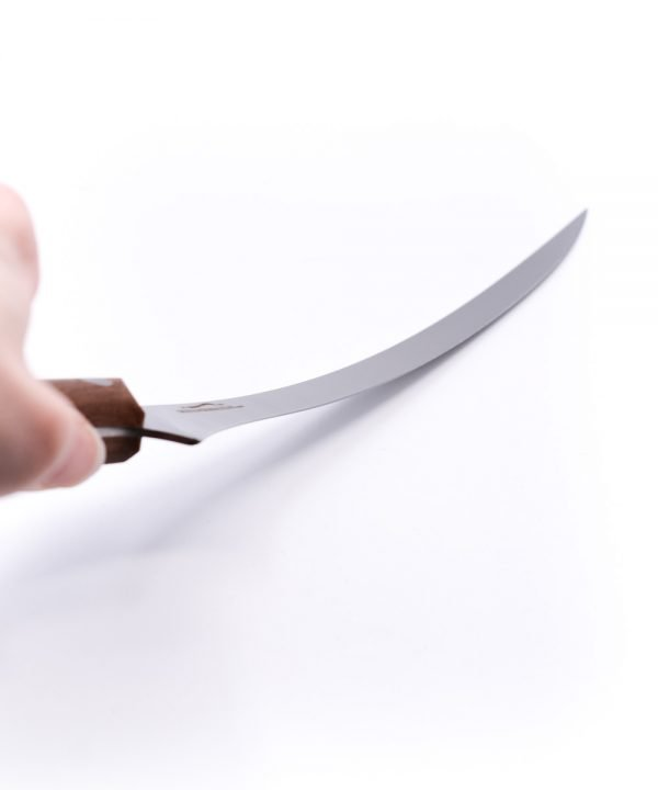 Due Cigni Sfilettare 18cm Noce-coltellipersonalizzati.com