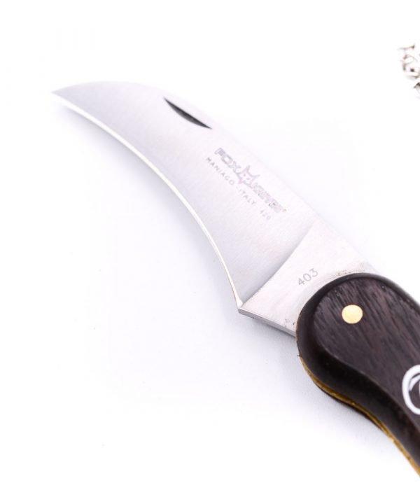 Fox da Funghi Lama Curva -coltellipersonalizzati.com