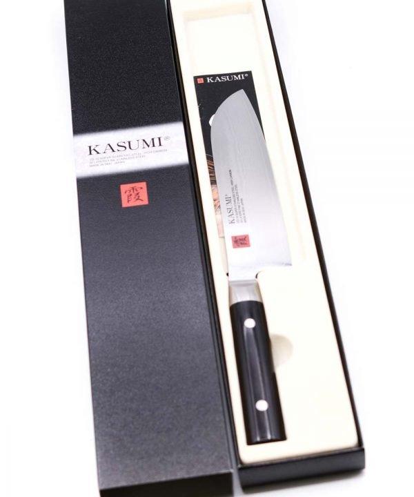 Kasumi Damascus Santoku 18cm-mycustomknives.com