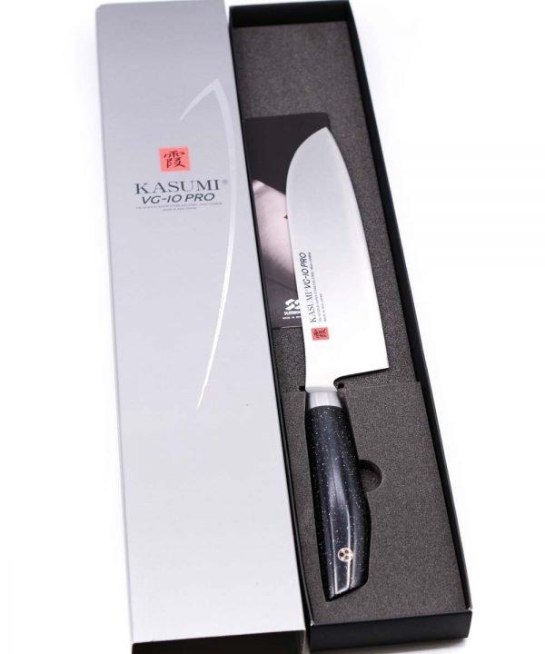 Kasumi VG-10 PRO Santoku 18cm-coltellipersonalizzati.com