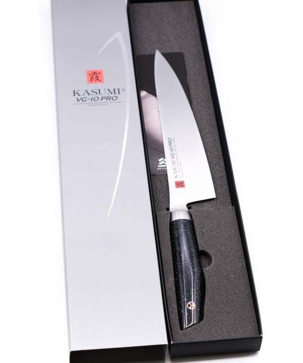 Kasumi VG-10 PRO Chef's Knife 20cm-mycustomknives.com