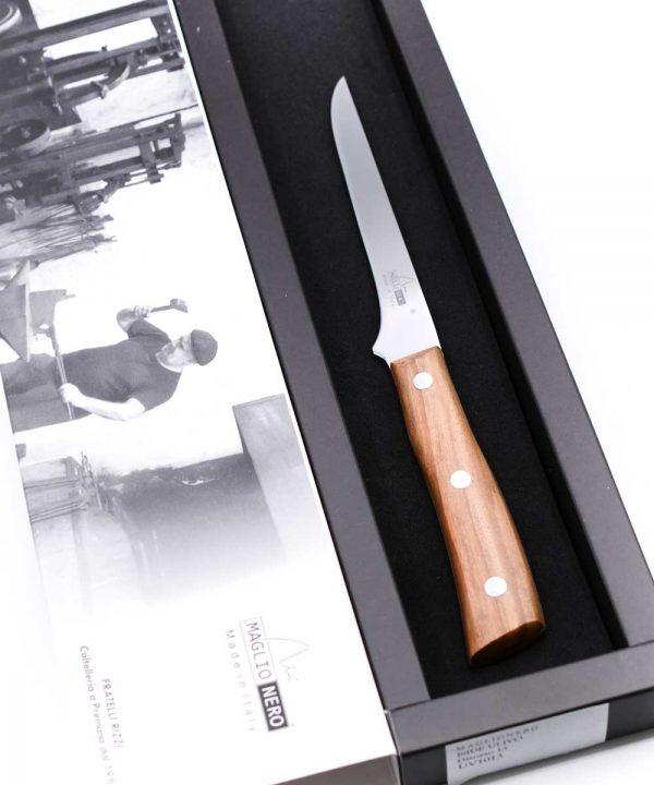 Maglio Nero Iside Boning Knife 13cm Olive Wood