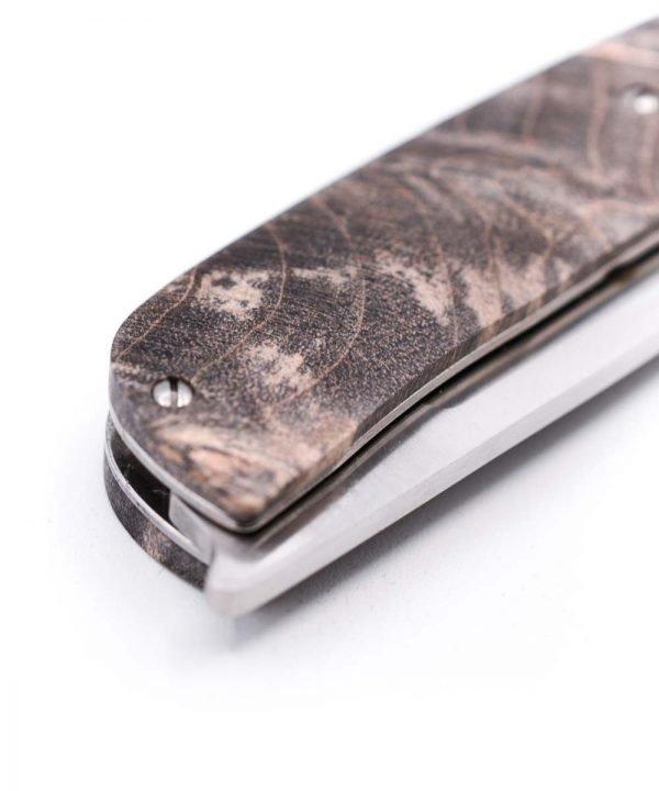 Maserin 380 Black Briar Root Gourmet Line-custom-knives