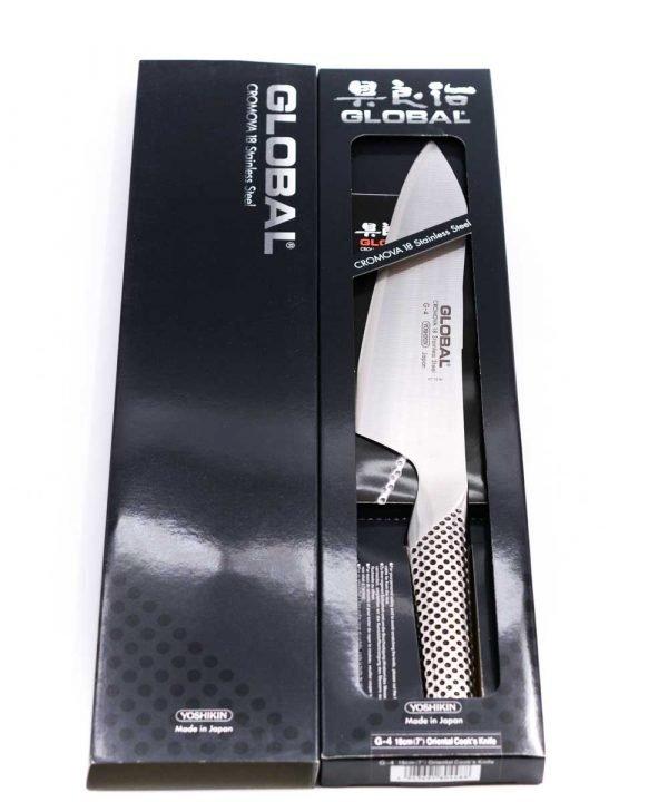 Global G-4 Oriental Knife 18cm-coltellipersonalizzati.com