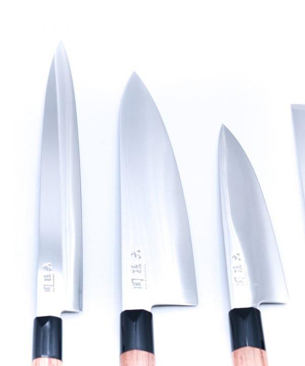 Kai Redwood set 7 pezzi-coltellipersonalizzati.com