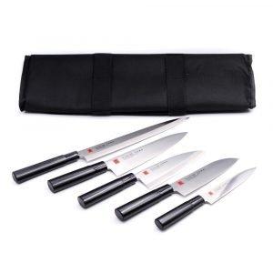 Kasumi TORA Set 5 Pz con Deba-coltellipersonalizzati.com