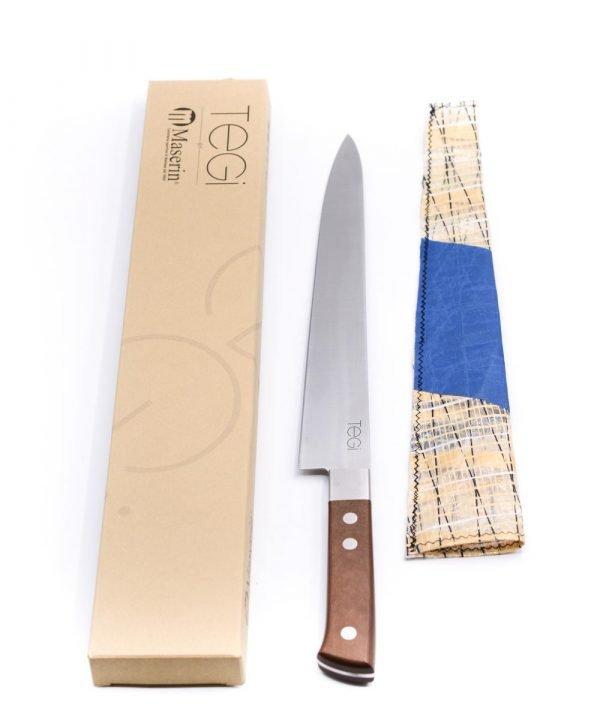 Maserin TEGI Sashimi 26cm Marrone-coltellipersonalizzati.com