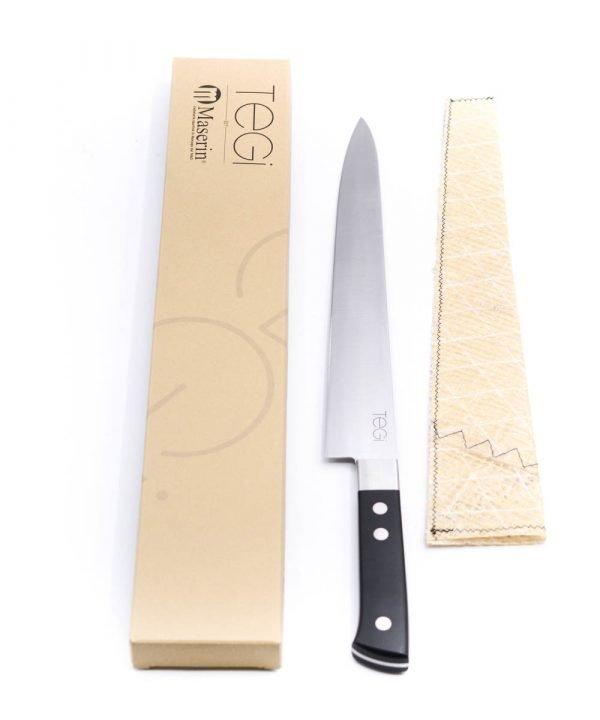 Maserin TEGI Sashimi 26cm Nero-coltellipersonalizzati.com
