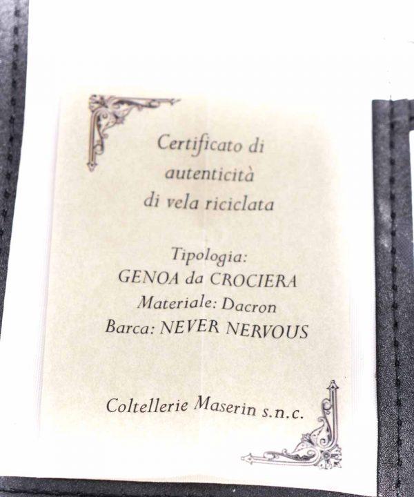 Maserin TEGI Set 6pz Marrone + Borsa in Vela Riciclata-coltellipersonalizzati.com