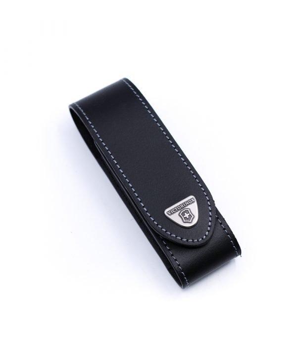 Victorinox Fodero da Cintura in Pelle Nero-coltellipersonalizzati.com