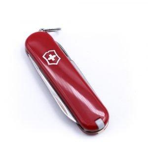 Victorinox classic SD Rosso-coltellipersonalizzati.com