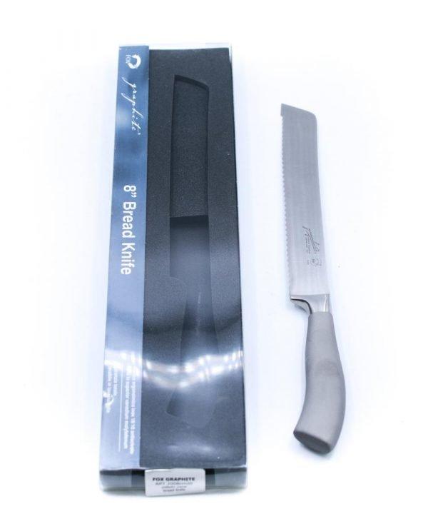 Fox Pane Inox Satinato 21cm-coltellipersonalizzati.com