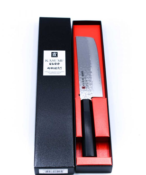 Kasumi KURO Nakiri 16cm-coltellipersonalizzati.com
