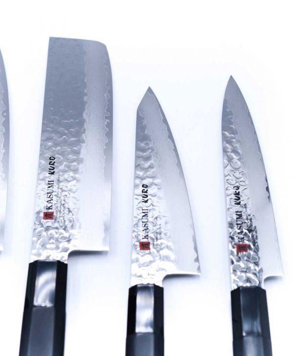Kasumi KURO Set 9pz-coltellipersonalizzati.com
