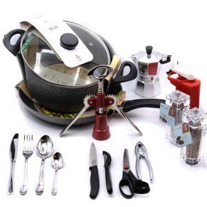 Set Essenziale in Cucina-coltellipersonalizzati.com