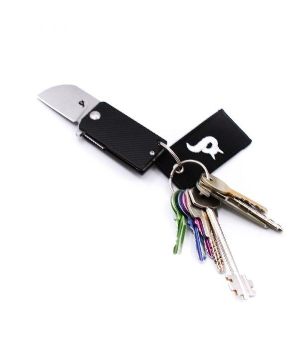 Black Fox B-Key Nero-coltellipersonalizzati.com