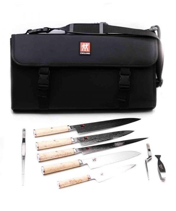 Miyabi 5000MCD-B Set 9pz-coltellipersonalizzati.com