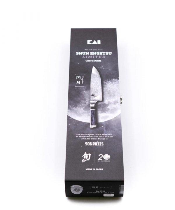 """Kai Shun Engetsu Trinciante 21cm Limited """"Moon""""-coltellipersonalizzati.com"""